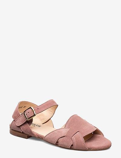 Sandals - flat - flade sandaler - 2194 powder