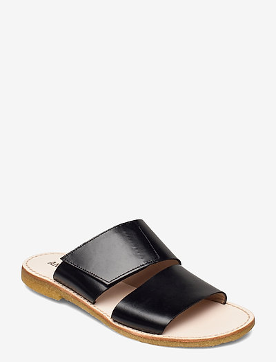 Sandals - flat - open toe - op - flade sandaler - 1835 black
