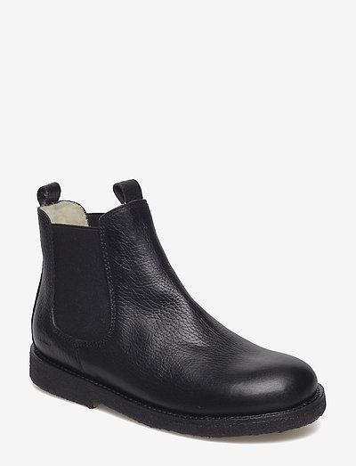 Chelsea boot - støvler - 2504/001 black/black