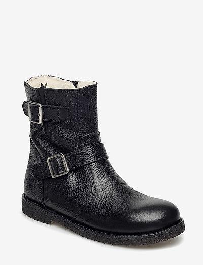 Boots - flat - vinterstøvler - 2504/1652 black/black