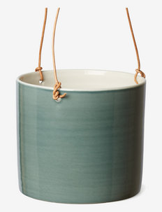 Flowerpot L, hanging - ruukut - petrol green