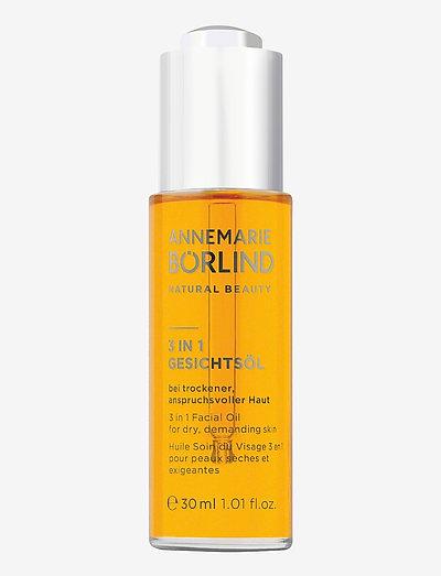 3-in-1 Facial Oil for dry, demanding skin - ansiktsolja - no colour