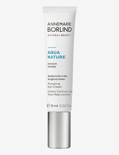AQUANATURE Plumping Eye Cream - Ögonkräm - no colour