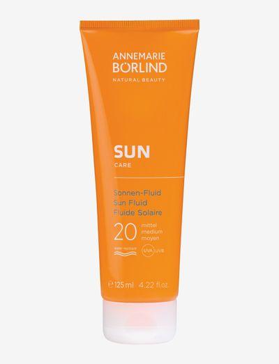 SUN Sun Fluid SPF 20 - ansikte - no colour