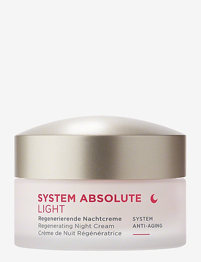 SYSTEM ABSOLUTE Night Cream light - natcreme - no colour