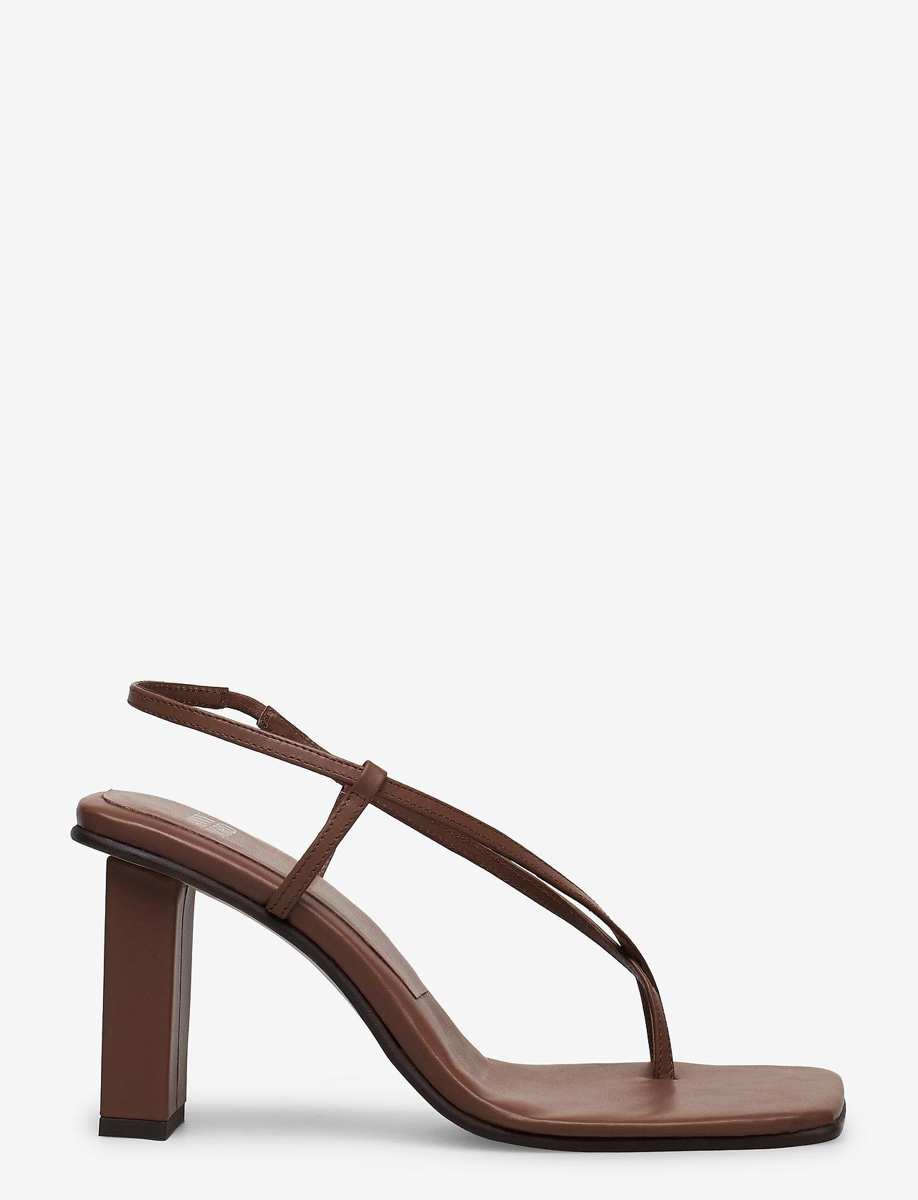 ANNY NORD - NEVER WRONG THONG - högklackade sandaler - 80 brown - 1