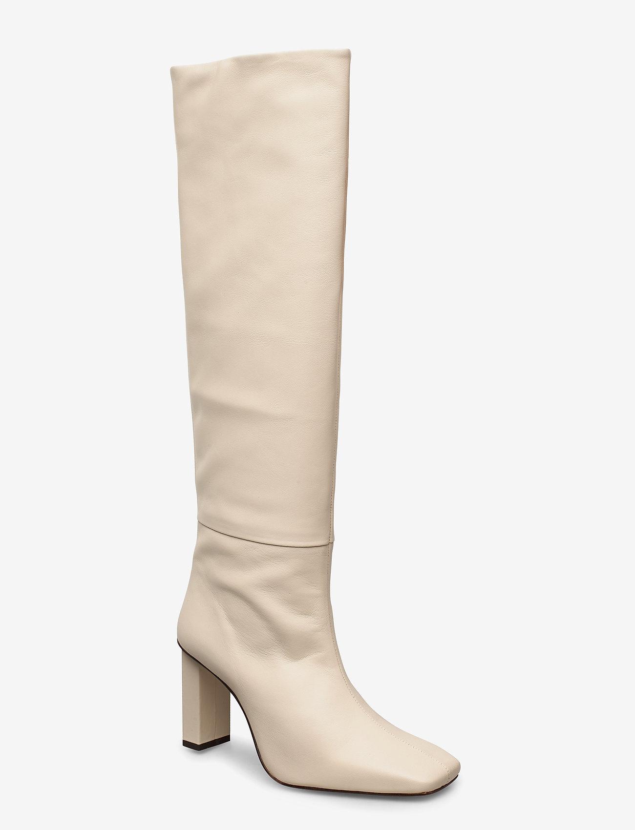 Joan Le CarrÉ Tall Boot (Cream) (299.40