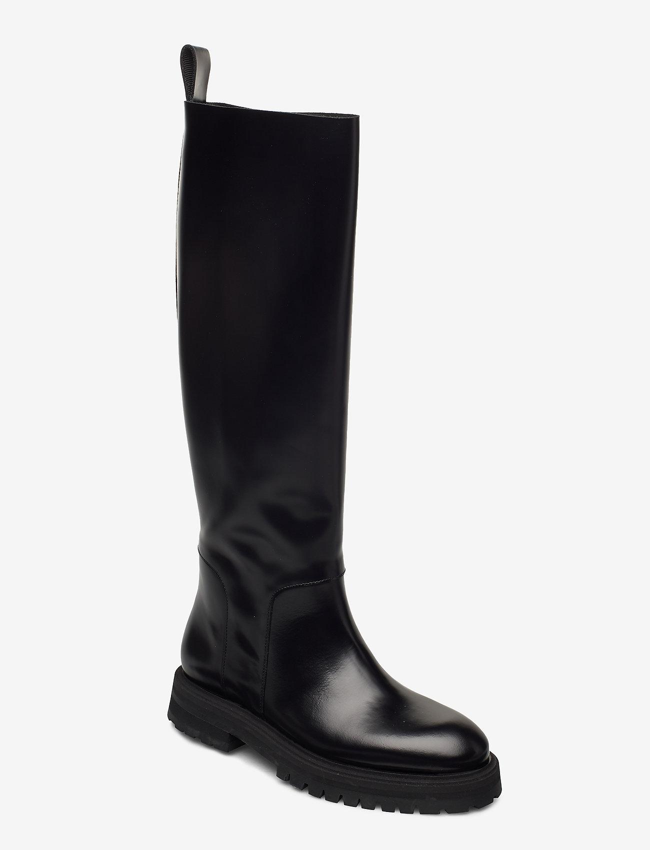 ANNY NORD - GOAL DIGGER Tall Boot - lange laarzen - black - 0