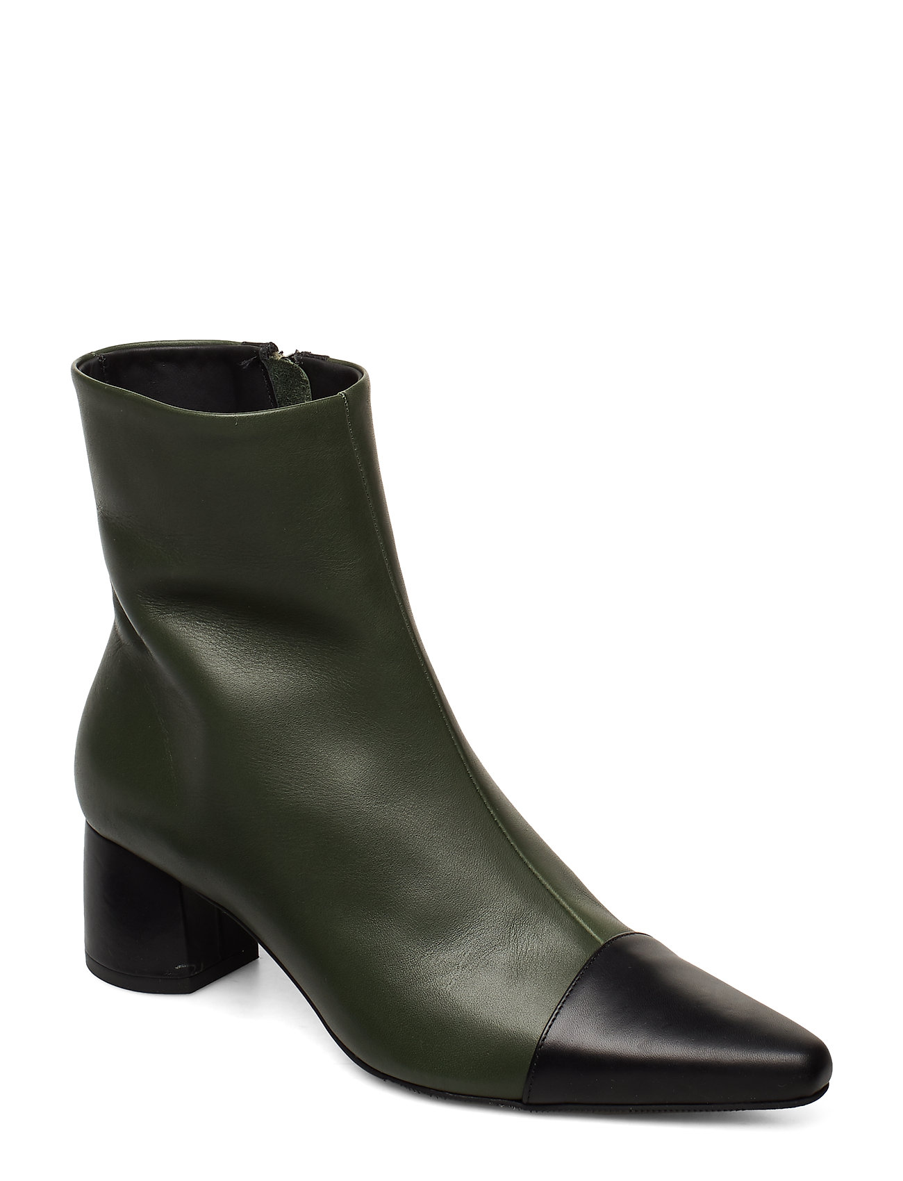 Image of Rocket Career Shoes Boots Ankle Boots Ankle Boot - Heel Grøn ANNY NORD (3406245521)
