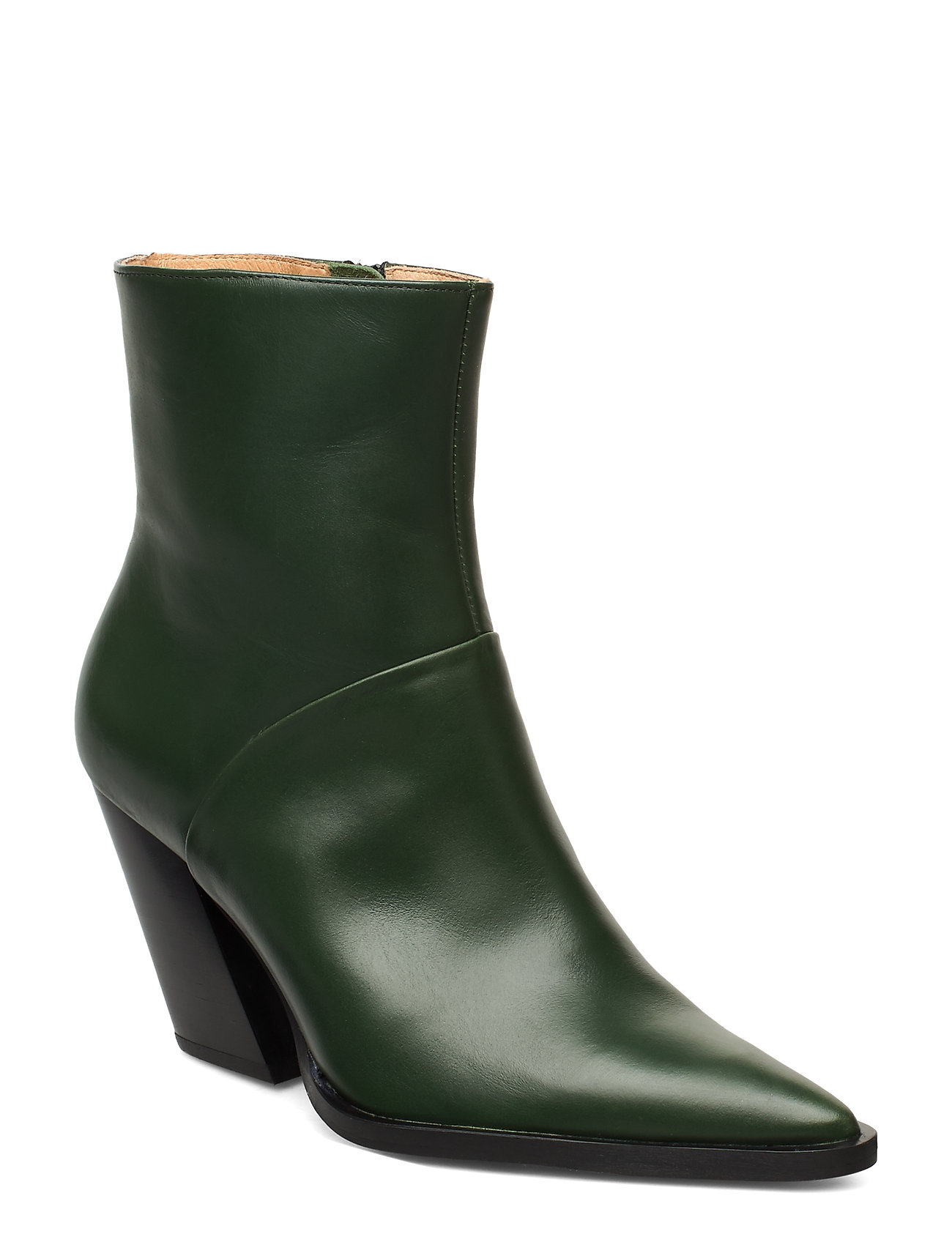 Image of Escape From The West Ankle Boot Shoes Boots Ankle Boots Ankle Boot - Heel Grøn ANNY NORD (3406245505)