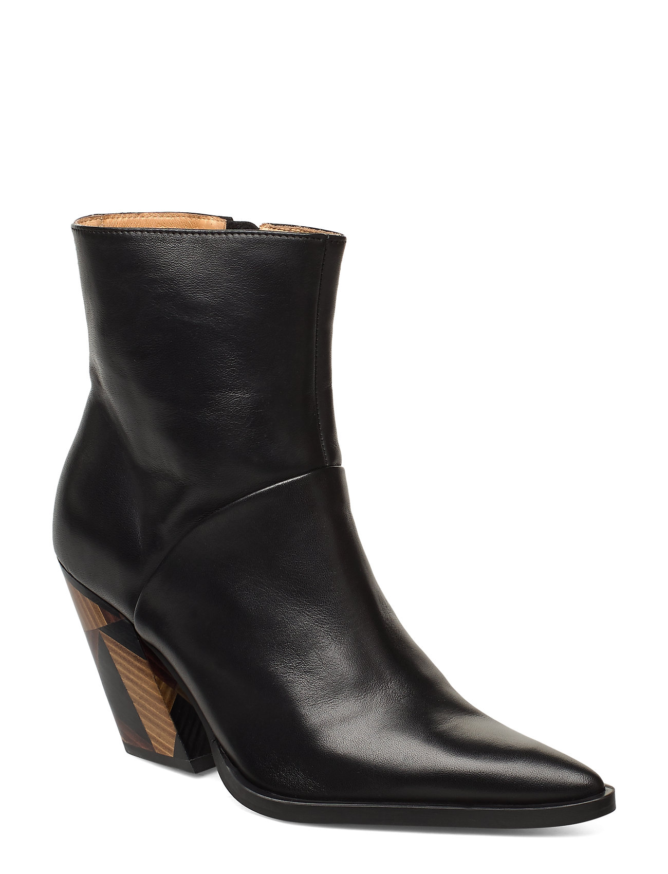 Image of Escape From Reality Shoes Boots Ankle Boots Ankle Boot - Heel Sort ANNY NORD (3463780471)