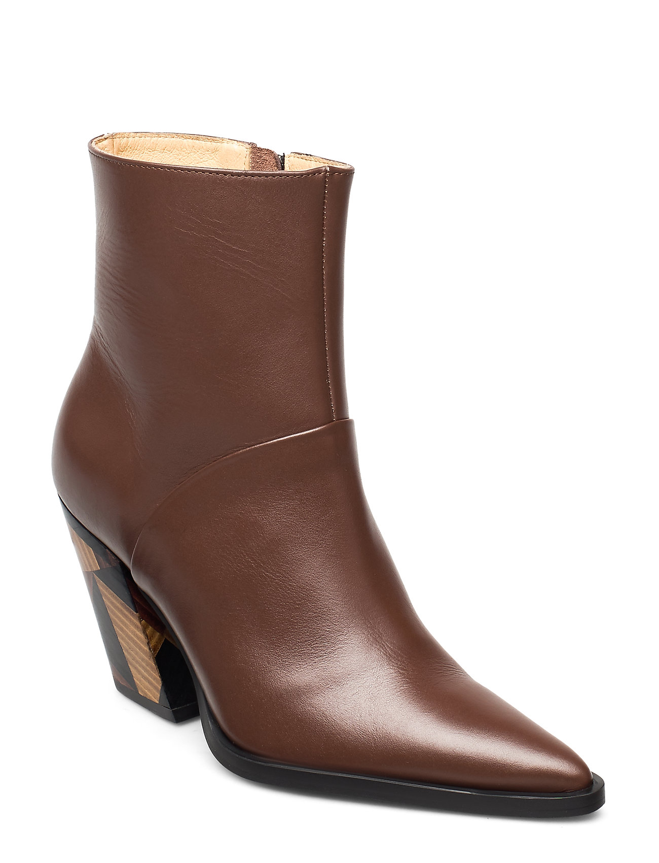 Image of Escape From Reality Shoes Boots Ankle Boots Ankle Boot - Heel Brun ANNY NORD (3463780469)