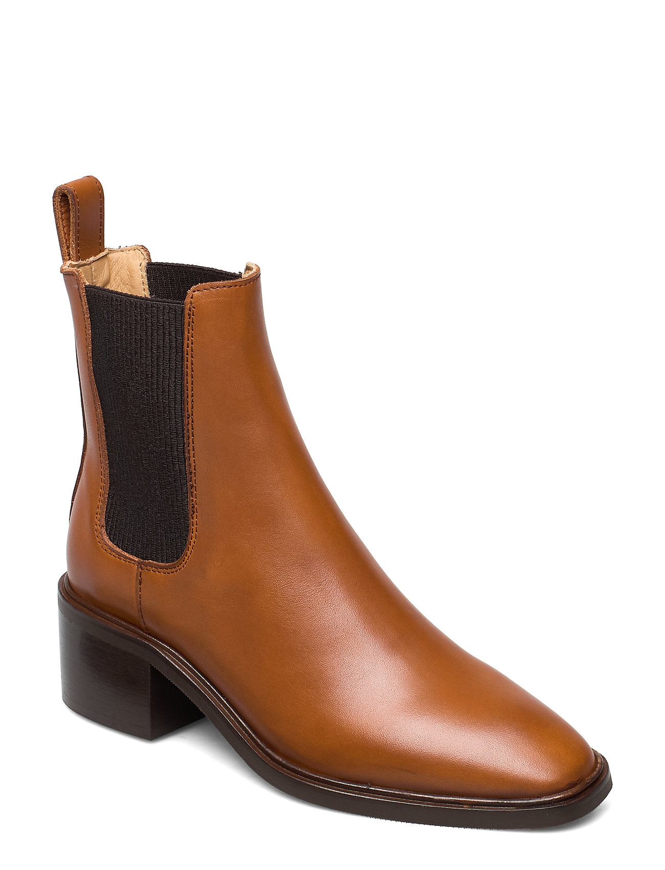 Image of All Day All Night Shoes Boots Ankle Boots Ankle Boot - Heel Brun ANNY NORD (3445363191)