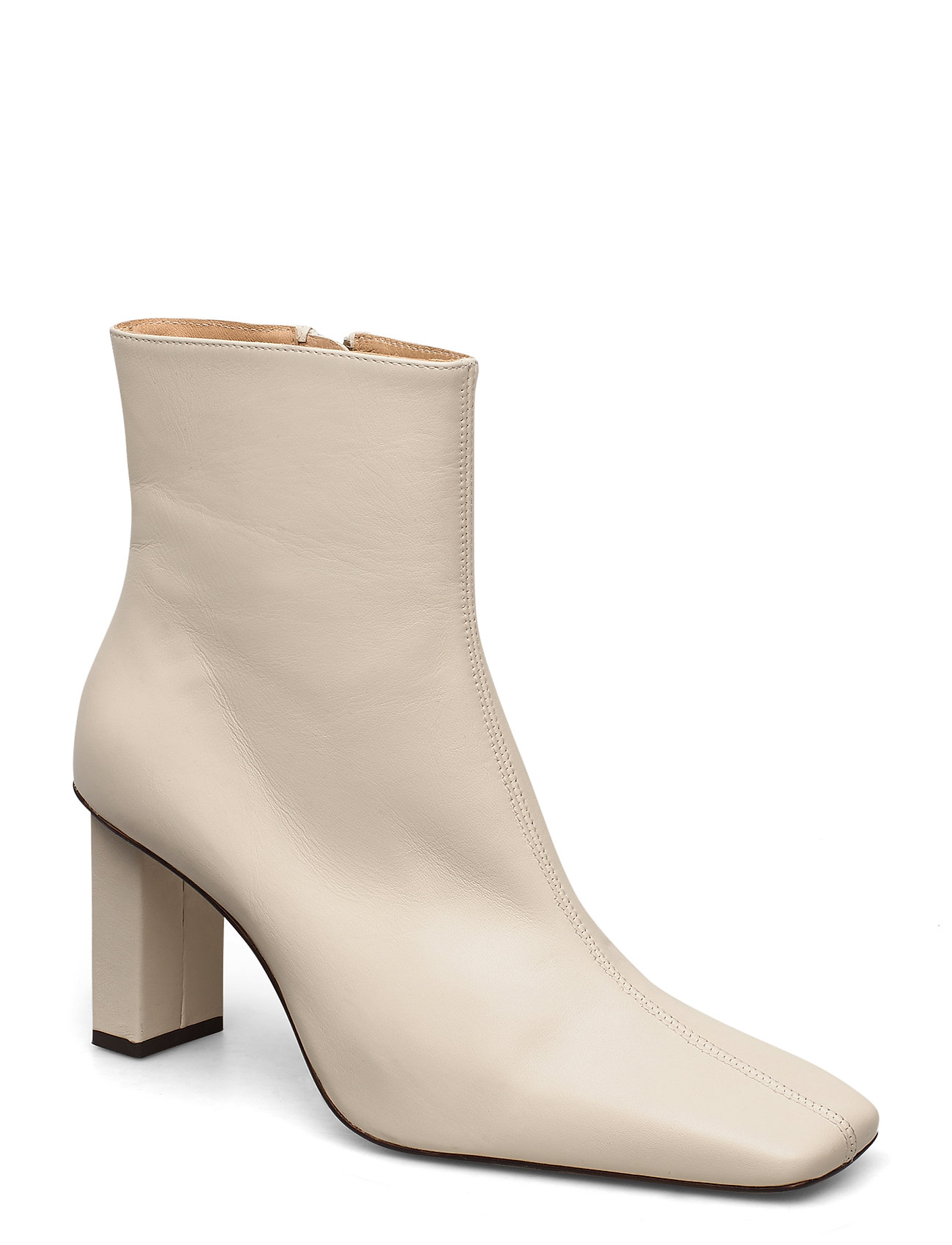 Image of Joan Le CarrÉ Ankle Boot Shoes Boots Ankle Boots Ankle Boot - Heel Creme ANNY NORD (3422268703)