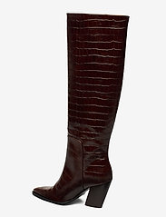 ANNY NORD - ESCAPE FROM THE WEST Tall Boot - lange laarzen - brown croc - 2