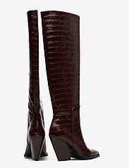 ANNY NORD - ESCAPE FROM THE WEST Tall Boot - lange laarzen - brown croc - 4
