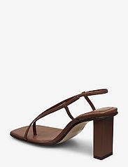 ANNY NORD - NEVER WRONG THONG - högklackade sandaler - 80 brown - 2
