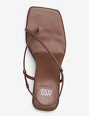 ANNY NORD - NEVER WRONG THONG - högklackade sandaler - 80 brown - 3