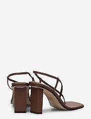 ANNY NORD - NEVER WRONG THONG - högklackade sandaler - 80 brown - 4