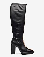 ANNY NORD - CROSSING THE LINE Tall boot - lange laarzen - black / beige combo - 1