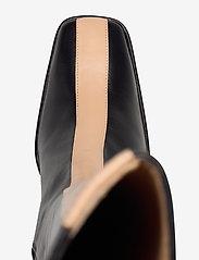 ANNY NORD - CROSSING THE LINE Tall boot - lange laarzen - black / beige combo - 3