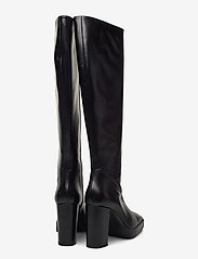 ANNY NORD - CROSSING THE LINE Tall boot - lange laarzen - black / beige combo - 4