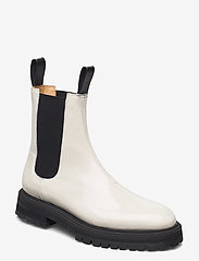 ANNY NORD - GOAL DIGGER Chelsea Boot - chelsea boots - off white patent - 0