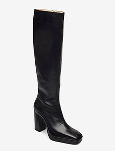CROSSING THE LINE Tall boot - høye boots - black