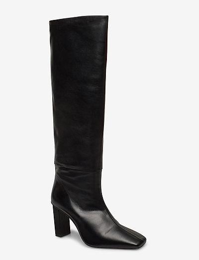 JOAN LE CARRÉ Tall Boot - lange laarzen - black