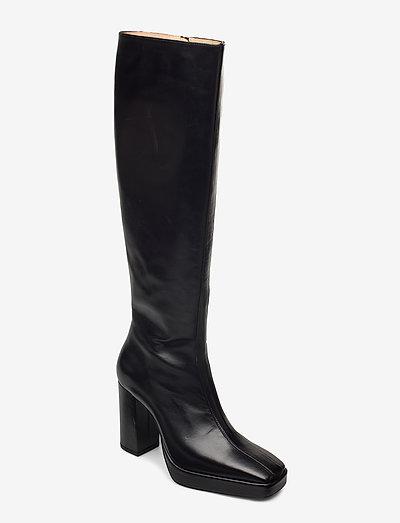 CROSSING THE LINE Tall boot - lange laarzen - black