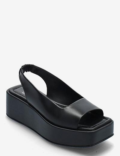 LEVEL UP Sling-Back - sandalen met hak - black