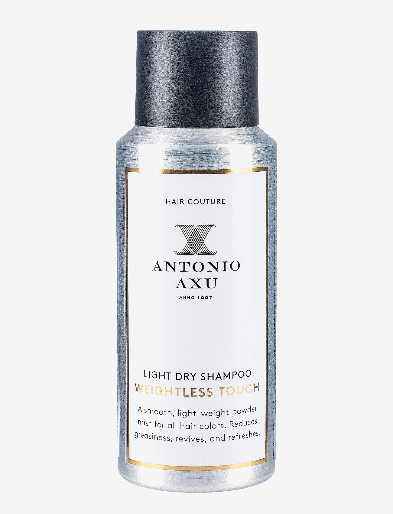 Antonio Axu - LIGHT DRY SHAMPOO WEIGHTLESS TOUCH - tørshampoo - clear - 0