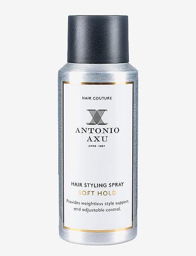 HAIR STYLING SPRAY SOFT HOLD - spray - clear