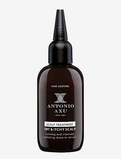 SCALP TREATMENT DRY & ITCHY SCALP - hårkurer - clear