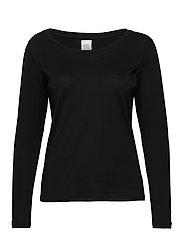 T-Shirt Long Sleeve LIGHTWEIGHT - BLACK