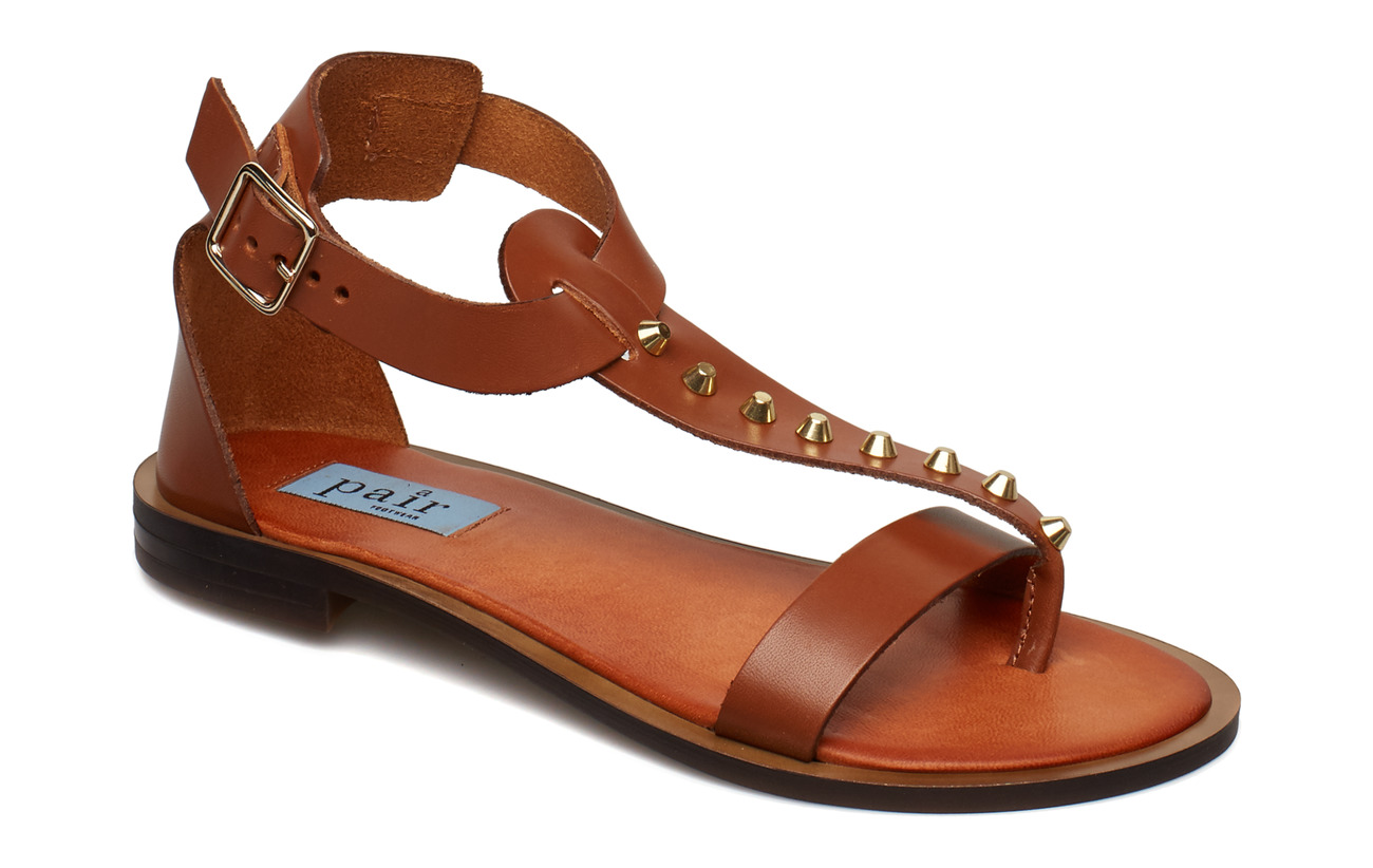 Apair Rivet T-string sandal - BRUCIATTO