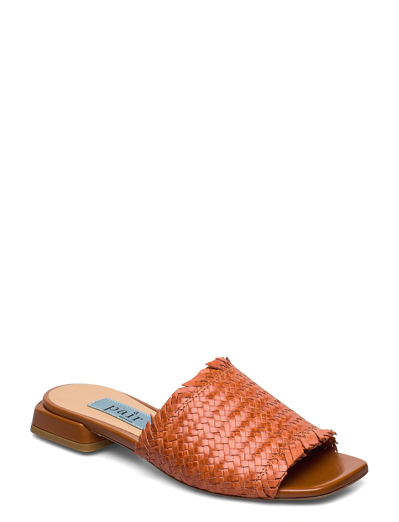 Image of Braided Flat Sandal Shoes Summer Shoes Flat Sandals Brun Apair (3370075611)