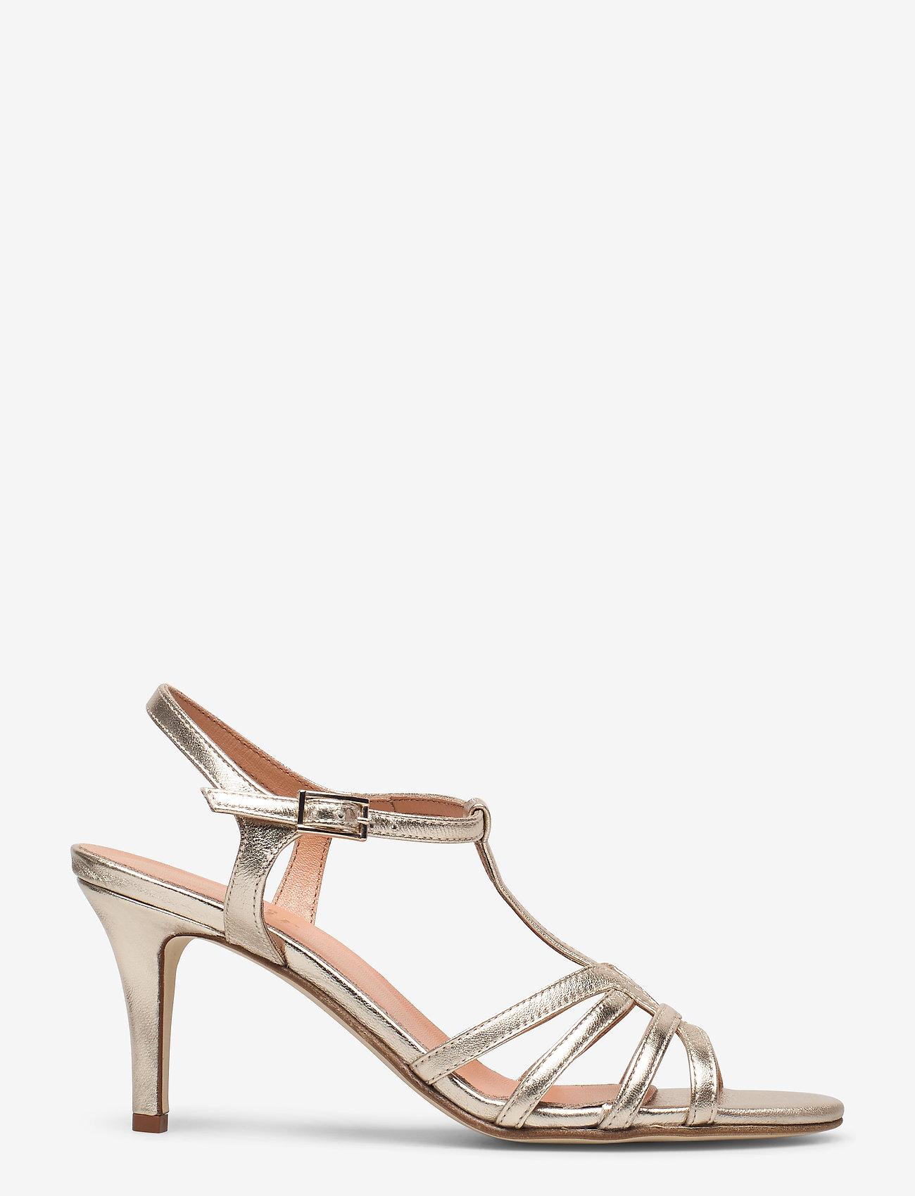 Apair - Dance sandal t-string - høyhælte sandaler - platino