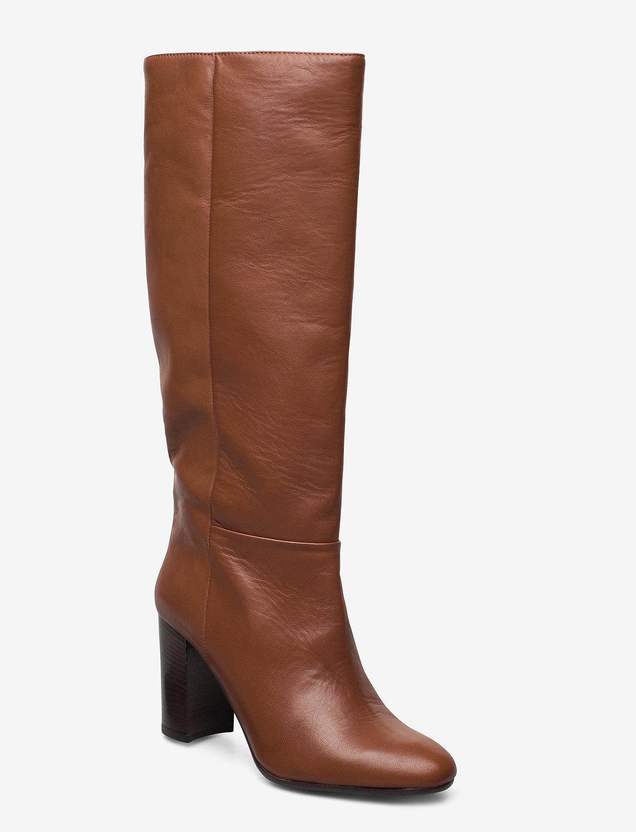 Apair - Classic boot - höga stövlar - cognac - 0