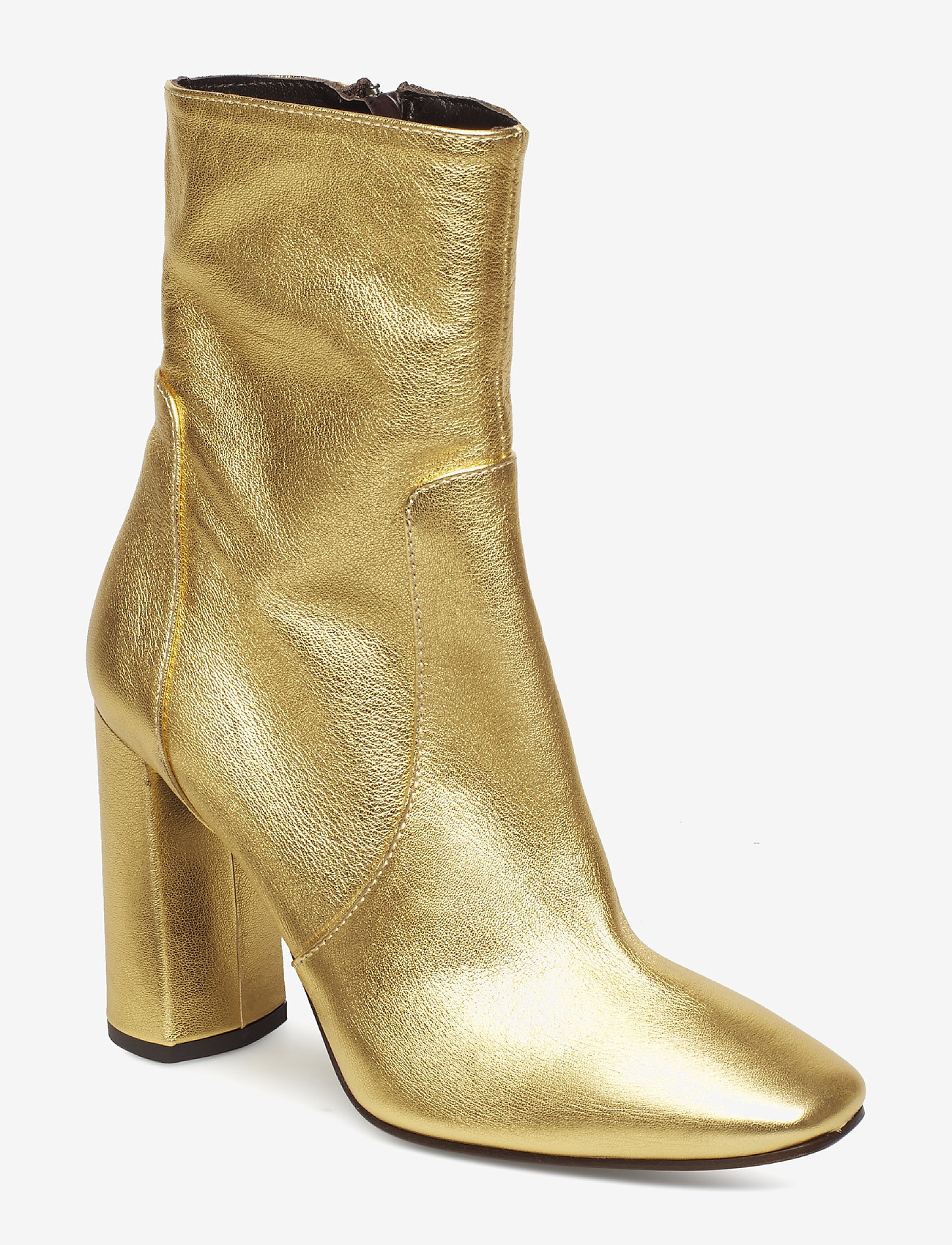 Apair - High heel party boot - ankle boots with heel - oro