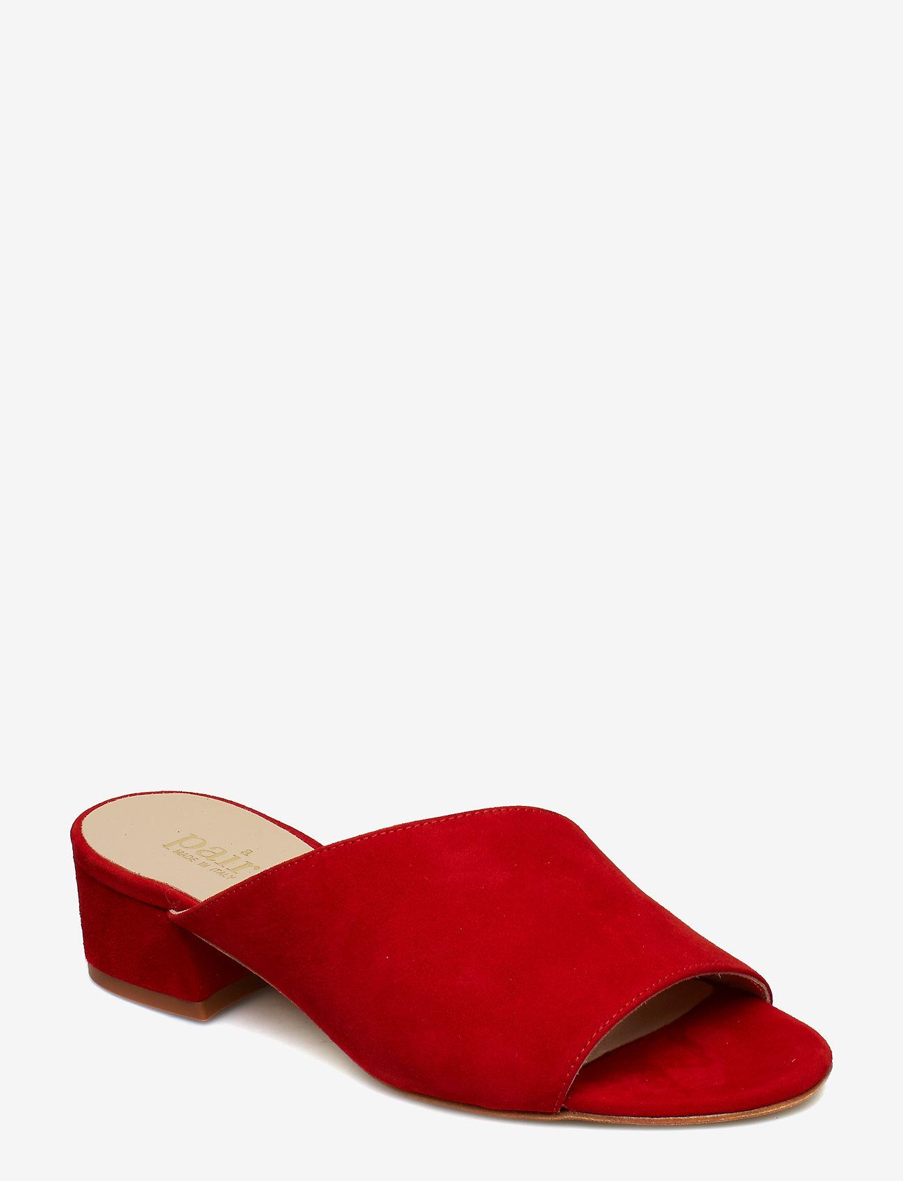 Apair - Asymmetric Slip in - korolliset sandaalit - rosso 1577