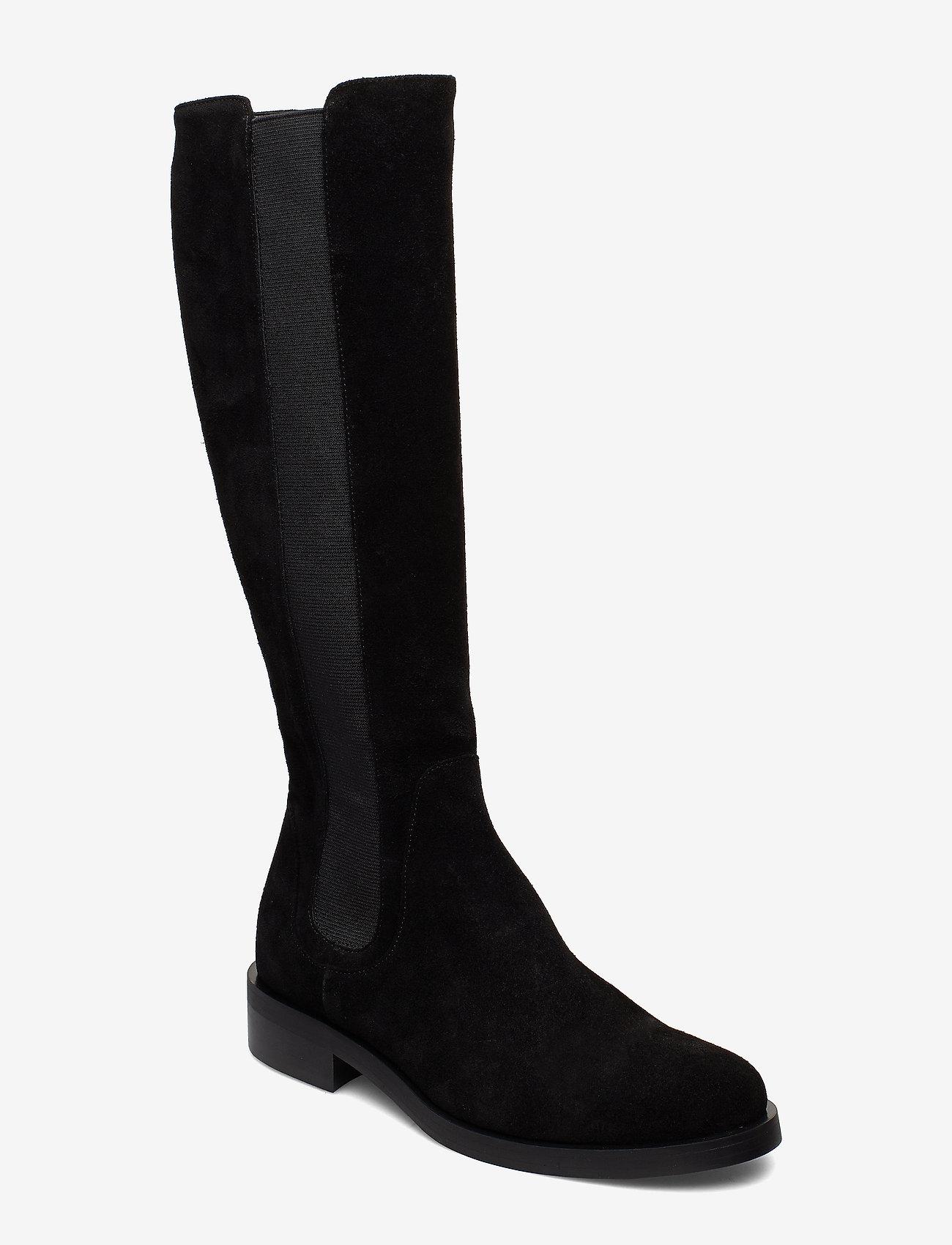 Apair - Long riding elastic - lange laarzen - black - 0