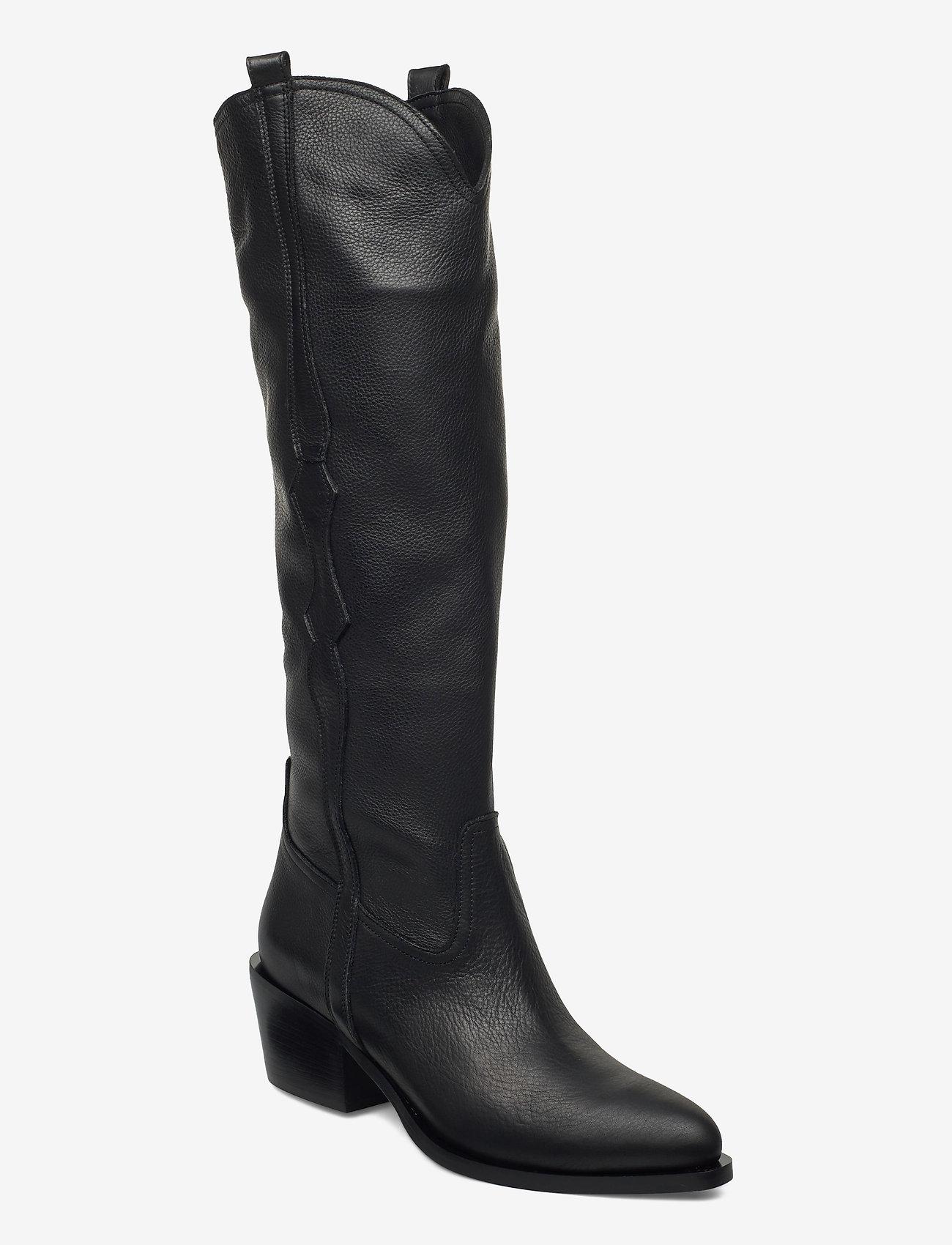 Apair - New western long - lange laarzen - black - 0