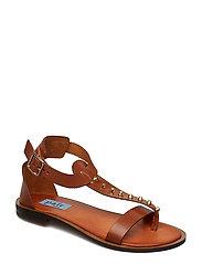 Rivet T-string sandal - BRUCIATTO