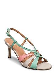 Dance sandal heelstring - MULTI COLORED
