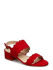 Wave sandal - ROSSO 1577