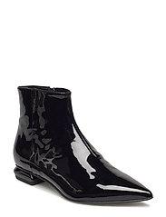 Pointed block heel - NERO