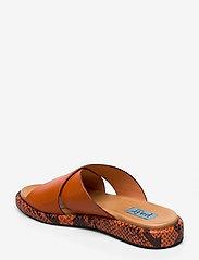 Apair - Plateau cross mix - platta sandaler - arancio - 2