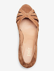 Apair - Open toe pump string - classic pumps - cognac - 3