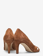 Apair - Open toe pump string - classic pumps - cognac - 4